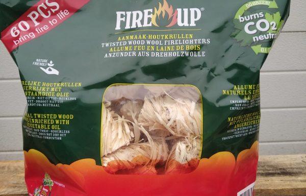 Fire Up Aanmaak Houtkrullen 60 stuks