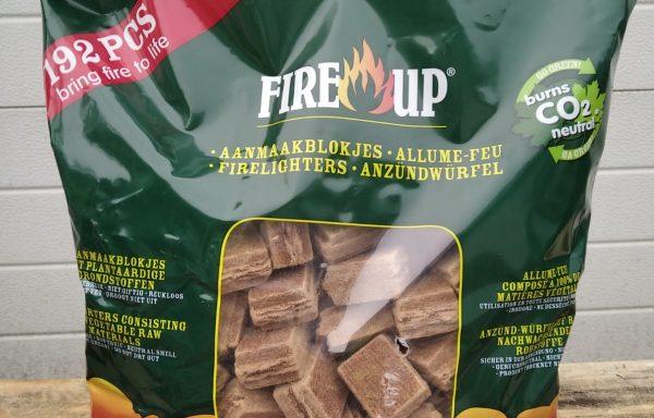 Fire Up Aanmaakblokjes Voordeelzak 192 stuks